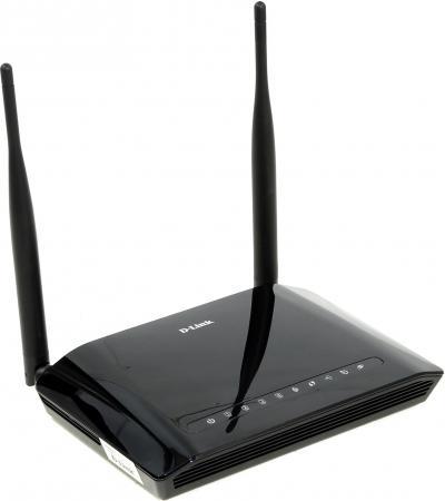 Беспроводной маршрутизатор ADSL D-Link DSL-2750U/RA/U2A/U3A 802.11bgn 300Mbps 2.4 ГГц 4xLAN USB USB черный беспроводной маршрутизатор adsl d link dsl 2740u ra v2a 802 11bgn 300mbps 2 4 ггц 4xlan черный