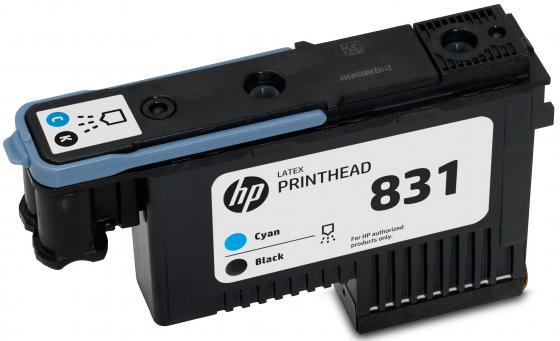 Печатающая головка HP CZ677A №831 голубой черный для HP Latex 310 330 360 hp 831 black cyan cz677a