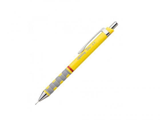 Карандаш механический Rotring Tikky 0.5мм желтый S0770573 механический карандаш rotring tikky ii