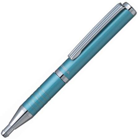 Шариковая ручка автоматическая Zebra SLIDE синий 0.7 мм BP115-LB 23462 S0220641
