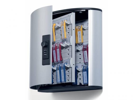 цена на Шкафчик Durable Key Box на 36 ключей высота 208см с кодовым замком 196623