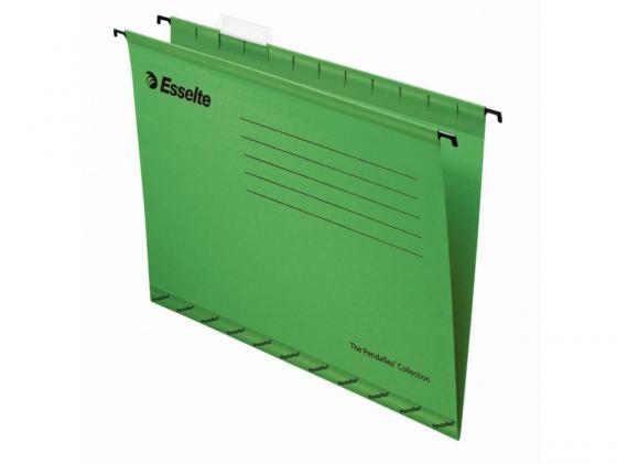 Папка подвесная Esselte Pendaflex Plus Foolscap 405x365x242мм 25шт зеленый 90337