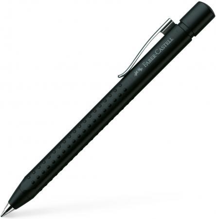 Шариковая ручка автоматическая Faber-Castell Grip 2011 синий 144187 ручка капилярная faber castell 152599