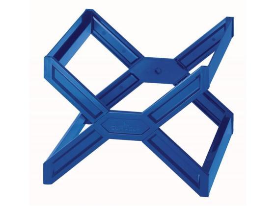 все цены на Подставка для подвесных папок Durable Carry Plus на 30 папок синий 261106 онлайн