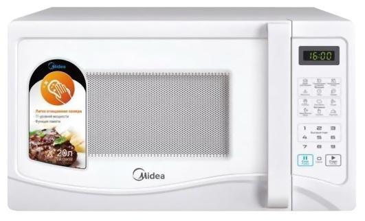 Микроволновая печь Midea EG720CEE 700 Вт белый микроволновая печь midea eg 820cxx
