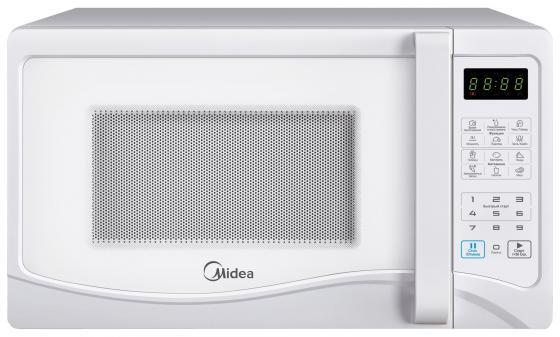 Микроволновая печь Midea EG823AEE 800 Вт белый микроволновая печь midea eg823aee белый