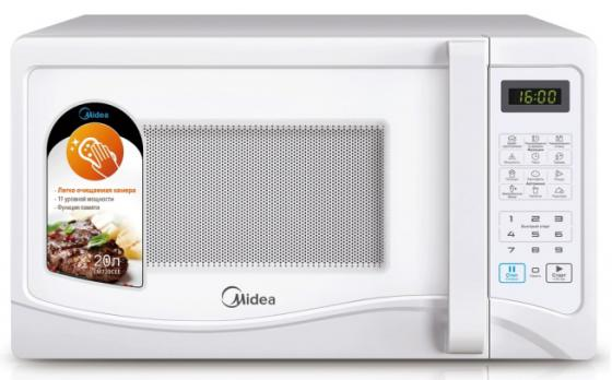 цена на Микроволновая печь Midea EM720CEE 700 Вт белый