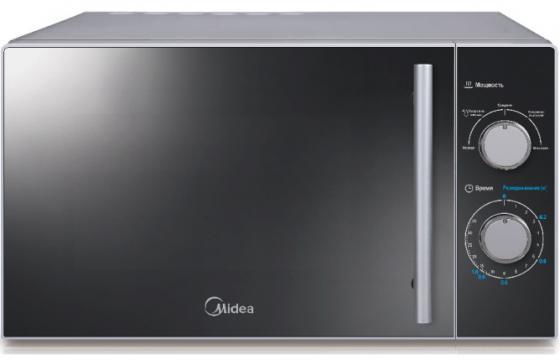 Микроволновая печь Midea MM720CMF 700 Вт серебристый микроволновая печь midea mm820cj7 b3 800 вт чёрный