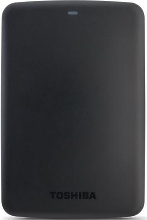 Внешний жесткий диск 2.5 USB3.0 1Tb Toshiba Canvio BasicS HDTB310EK3AA черный жесткий диск 1tb toshiba 3 5 mars dt01aca100 dt01aca100