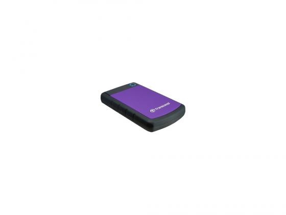 Внешний жесткий диск 2.5 USB3.0 2Tb Transcend TS2TSJ25H3B синий внешний жесткий диск transcend usb 3 0 2tb ts2tsj25h3b