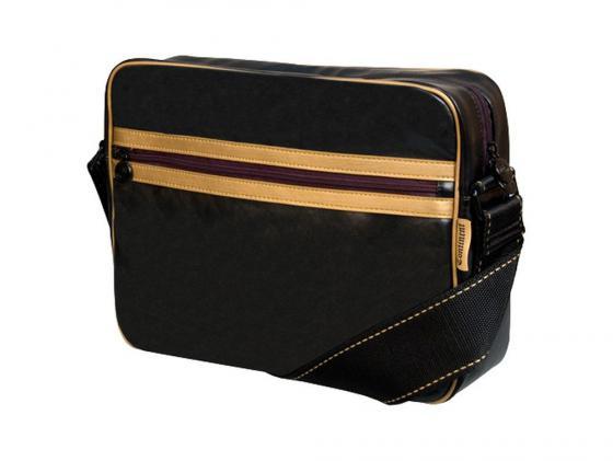 Сумка для ноутбука 13,3 Continent CC-063 черно-золотая