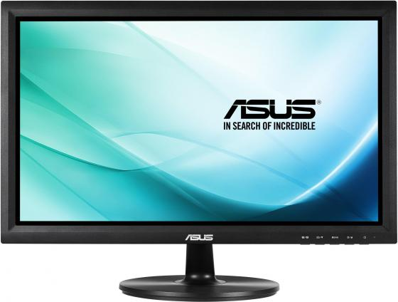 Монитор 19.5 ASUS VT207N черный TFT-TN 1600x900 200 cd/m^2 5 ms VGA DVI USB монитор 19 hp v196 черный tft tn 1366x768 200 cd m^2 5 ms dvi vga