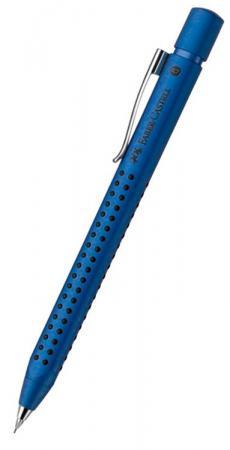 Карандаш механический Faber-Castell Grip 2011 металлический синий 131253 цена и фото
