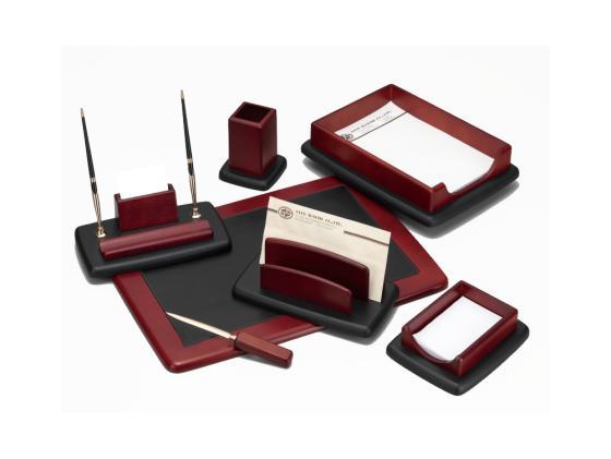 Настольный набор Good Sunrise 7 предметов красное дерево черный M7LF-1 настольный набор good sunrise 6 предметов дуб черный bk6dx 1