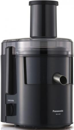 лучшая цена Соковыжималка Panasonic MJ-SJ01KTQ 800 Вт чёрный