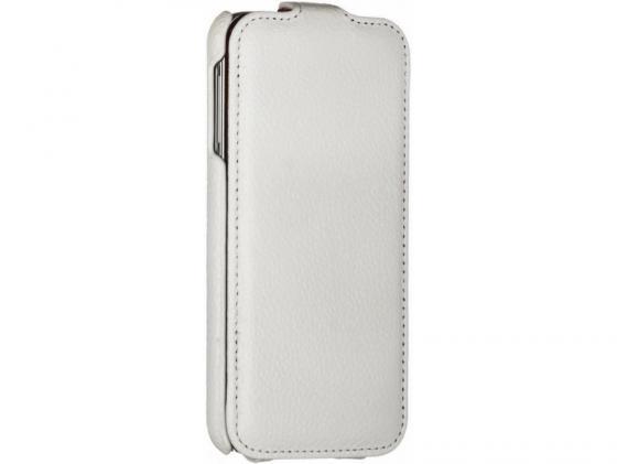 Чехол-книжка iRidium для Samsung Galaxy S5 натуральная кожа белый стоимость