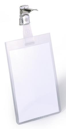 Бейдж Durable вертикальный 90x60мм с вращающимся клипом 25шт 800219 eurythmics eurythmics revenge