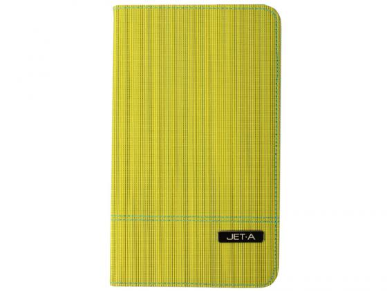 Чехол Jet.A SC8-7 для Samsung Galaxy Tab 4 8 жёлтый