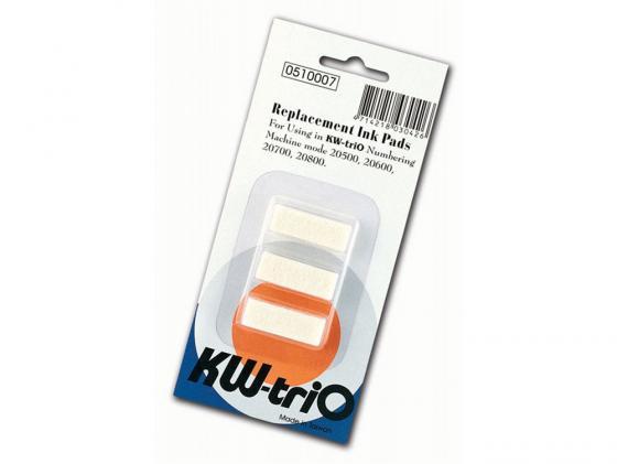 Штемпельная подушка KW-trio для автонумератора 20600/20700/20800 3шт 510007 панель декоративная awenta pet100 д вентилятора kw сатин