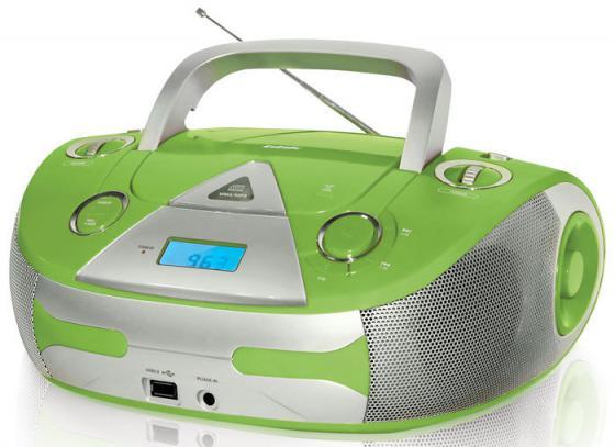 цена на Магнитола BBK BX325U зелено-серебристый