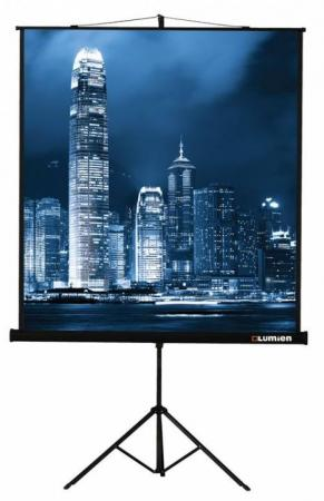 Экран на штативе Lumien Master View 120x160см Matte White FiberGlass LMV-100112 [lmc 100110] экран с электроприводом lumien master control 229x305 см 146 matte white fiberglass черн кайма по периметру