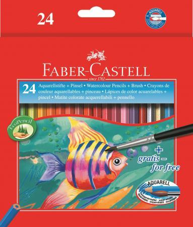 Набор цветных карандашей Faber-Castell Colour Pencils 24 шт акварельные 114425 marco renoir 3220 black wood colored pencils 24 36 48 colors watercolor pencils set for drawing lapis professional art supplies