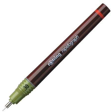 Рапидограф Rotring 0.30мм съемный пишущий узел/заправка тушь 1903238 rotring rapid pro metal mechanical pencil