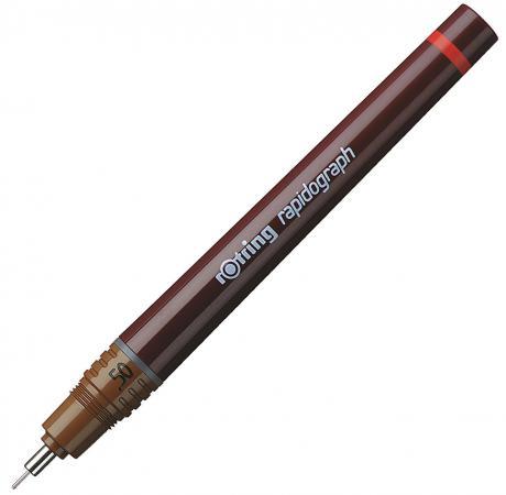 Рапидограф Rotring 0.50мм съемный пишущий узел/заправка тушь сменный картридж 1903240 цена