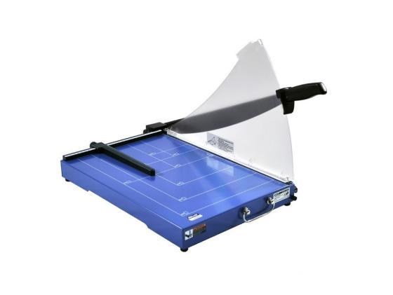 Резак сабельный KW-trio мощность 20 листов формат А3 металлическая база защитный экран 3025