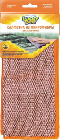 Салфетки из микрофибры двухсторонние 40х40 Lucky Bee LB 7207 весы 10 40 x 10 g lb oz 01