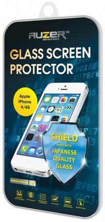 Защитное стекло Auzer AG-SAI 4 для iPhone 4 iPhone 4S 0.33 мм цена и фото