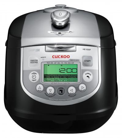Мультиварка Cuckoo CMC-HE1055F 1400 Вт 5 л черный серебристый cuckoo cmc he 1055 f