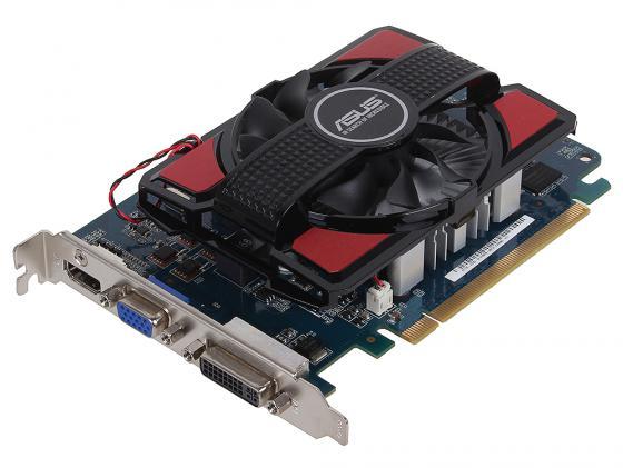 Видеокарта 4096Mb ASUS GeForce GT730 PCI-E 128bit GDDR3 DVI HDMI HDCP GT730-4GD3 Retail asus radeon rx 460 1200mhz pci e 3 0 4096mb 7000mhz 128bit dvi hdmi dp hdcp strix rx460 4g gaming