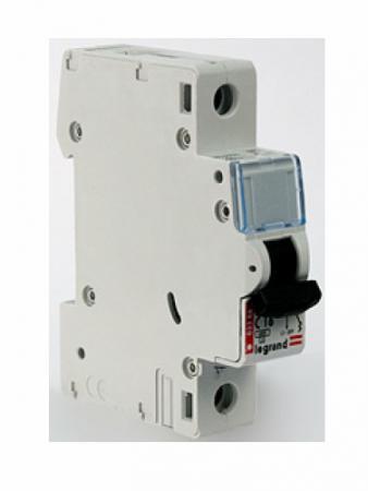 Автоматический выключатель Legrand DX-E 6000 6кА тип C 1П 230/400В 40А 407267