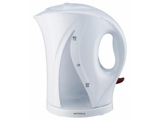 Чайник Supra KES-1701 1800Вт 1.7л пластик белый