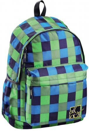 Школьный рюкзак All Out Luton Pool Check 22 л голубой зеленый 00124821 рюкзак all out luton 129218 blue dream check