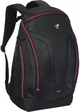 Рюкзак для ноутбука 17 ASUS Rog Shuttle 2 нейлон полиэстер черный 90-XB2I00BP00020 рюкзак для ноутбука 17 asus rog ranger 2 in 1 нейлон резина черный