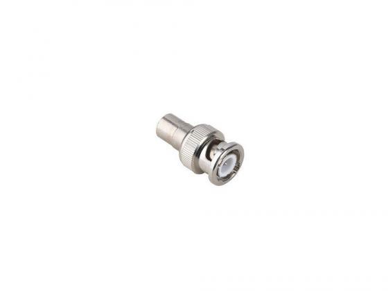 Адаптер Hama RCA (f)-BNC (m) металл H-43437 антенный адаптер hama coax m f m 00122485