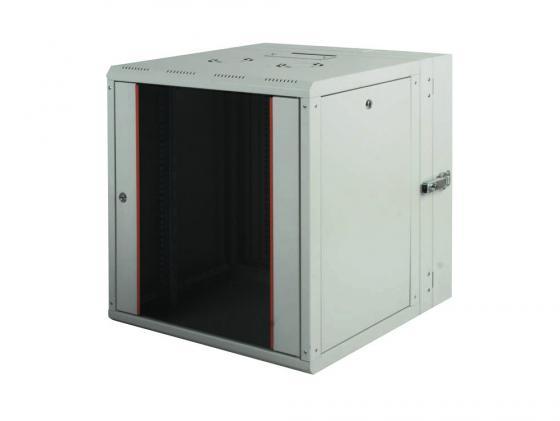 цена на Шкаф настенный 19 16U Estap ProLine PRD16U56GF1 600x(160+450)mm дверь стекло с металлической рамой слева и справа серый