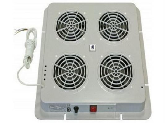Вентиляторный модуль Estap M35HV4FTG 4 вентилятора термостат для шкафов EuroLine и EcoLine серый цоколь estap m11pnt68eu для шкафов euroline 600x800