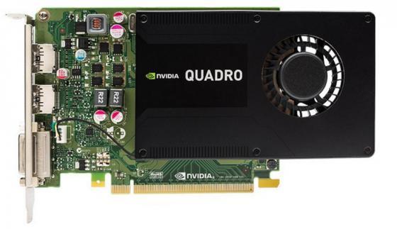 Видеокарта PNY Quadro K2200 VCQK2200BLK-1 PCI-E 4096Mb GDDR5 128 Bit OEM oem 1 100