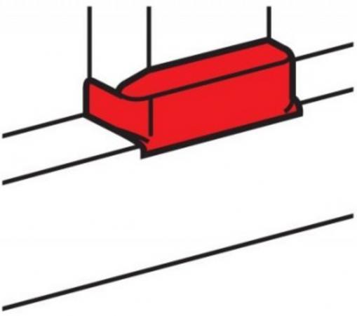 Отвод плоский Legrand для односекционных кабель-каналов DLP 50х105 ширина профиля 105 мм 10740 белый стоимость