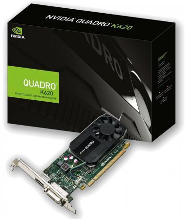 Видеокарта 2048Mb PNY Quadro K620 PCI-E DVI DP Low Profile VCQK620-PB Retail видеокарта 6144mb msi geforce gtx 1060 gaming x 6g pci e 192bit gddr5 dvi hdmi dp hdcp retail