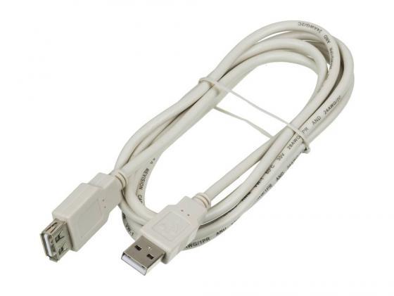 Фото - Кабель удлинительный USB 2.0 AM-AF 1.8м Ningbo 841884 кабель удлинительный usb 2 0 am af 0 75м buro usb2 0 am af 0 75m