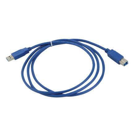Кабель соединительный USB3.0 AM-BM 1.8м VCOM Telecom VUS7070-1.8M кабель соединительный usb3 0 am bm 3 0м vcom telecom vus7070 3m