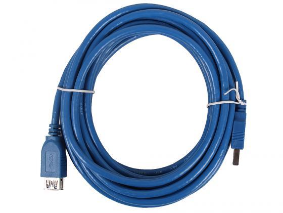 Фото - Кабель удлинительный USB 3.0 AM-AF 5.0м VCOM Telecom VUS7065-5M переходник usb 2 0 af af vcom vad7901 ca408
