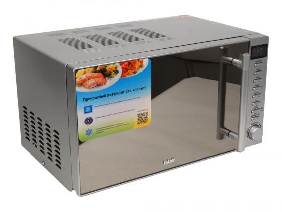 Микроволновая печь BBK 20MWG-733T/BS-M 20л 700Вт серебристый микроволновая печь bbk 23mws 927m w 900 вт белый