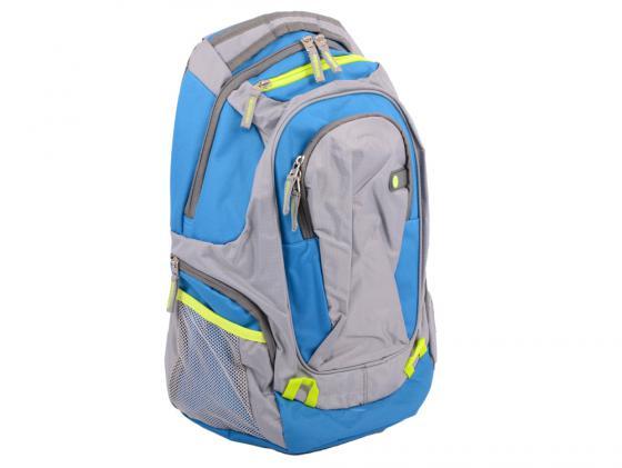 Рюкзак для ноутбука 15.6 HP F4F29AA Outdoor Sport BP синтетика синий/серый mojo pax рюкзак sport bascket ball