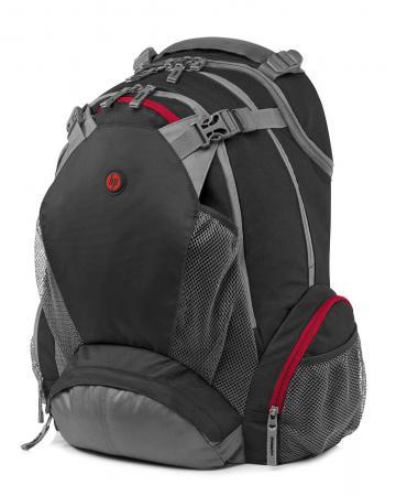 Рюкзак для ноутбука 17.3 HP F8T76AA Full Featured Backpack синтетика черный