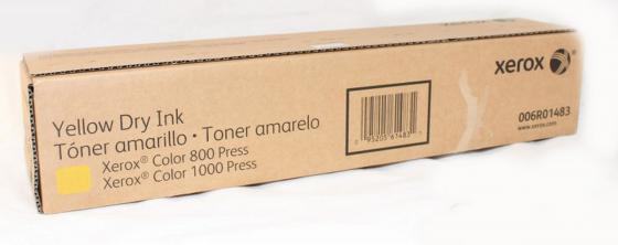 Тонер-картридж Xerox 006R01483 для Color 1000 желтый карман для схем legrand 36580